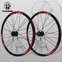 Горный велосипед колесо 26 дюймов MTB колеса Алюминий сплав диск колеса 1 пара