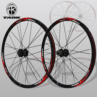 mountain bike bicycle wheel 26 inch mtb wheels Aluminum Alloy disc wheel 1 pair