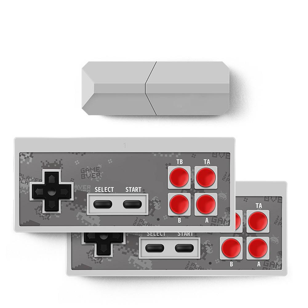Wireless USB Console Y2 Pro USB TV Video Game Console Classic 8-bit Mini Game Console 600 Classic Games Handheld Gamepads