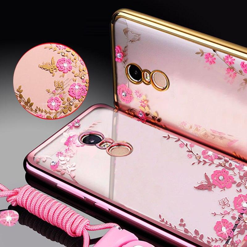 Ausdauernd Yonlintan Coque Fall Für Xiaomi Redmi Note 4x Hinweis 4 X Transparent Rosa 3d Phone Cases Zurück Weiche Silikon Silicon Blume Gute QualitäT Abdeckung