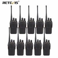 10 pcs Retevis H777 Cheap Wholesale Walkie Talkie UHF Portable Two way Radio Station Ham Radio Comunicador Handheld Transceiver