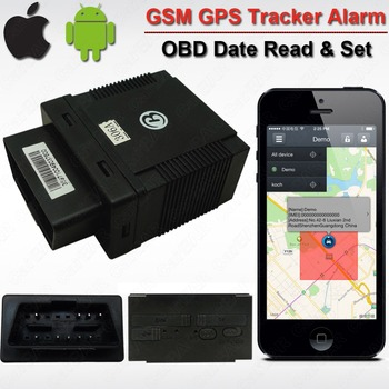 Car Vehicle OBD GPS GSM Alarm Tracker GPS306A  Realtime History Records Read Original Car info date  ACC Overspeed Alarm