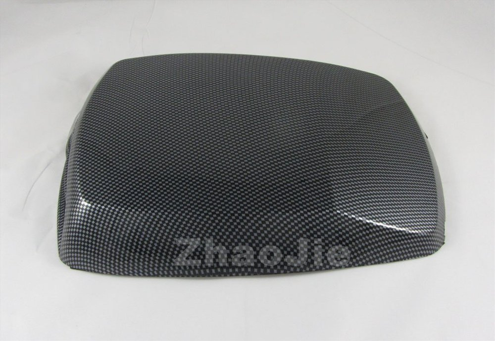 SUV decorative Air Flow Intake Hood Scoop Bonnet Vent Cover fake carbon fiber