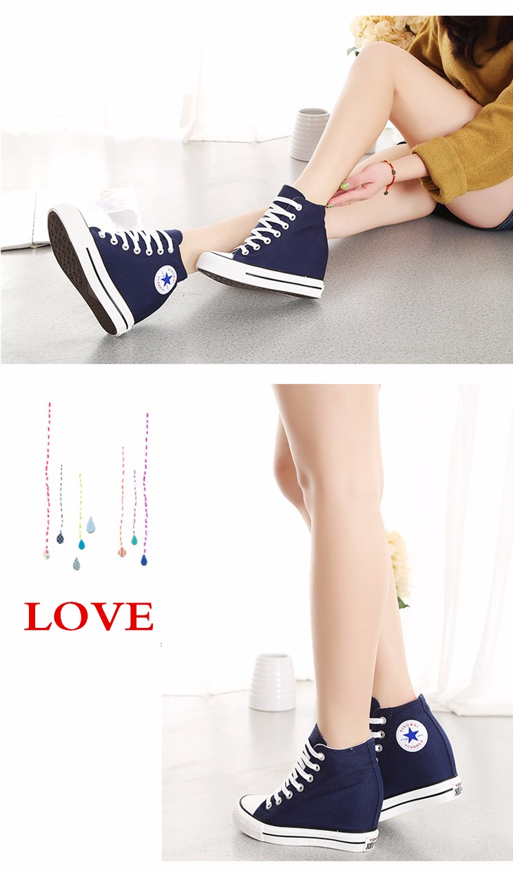 KUYUPP High Top Canvas Women Shoes Espadrilles Spring Autumn Womens Wedges Shoes Lace Up Casual Shoes For Female Sapatilha YD120 (13)