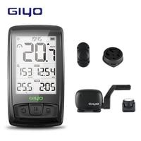 GIYO Bluetooth 4.0 Temperature Wireless Bicycle Computer Bike Speedometer Mount Holder Sensor counter Computer Cycling Odometer