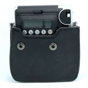 Image 3 - FUJIFILM Instax Mini 90 Neo Classic Camera Case PU Leather Shoulder Strap Camera Bag Crystal PVC Protective Carry Cover