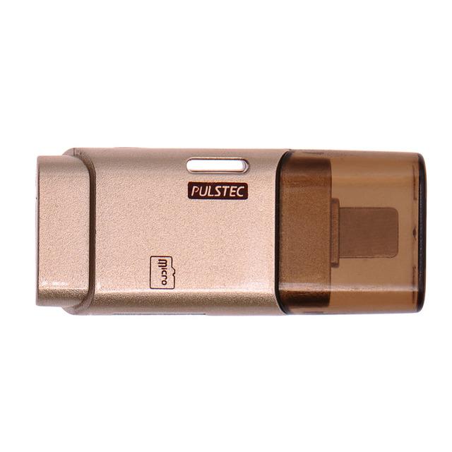 I-flash drive micro sd leitor de cartão de memória cabo usb e app para adicionar armazenamento extra para iphone 5/5s/6/6 s/7 ipod ipad mac e PC