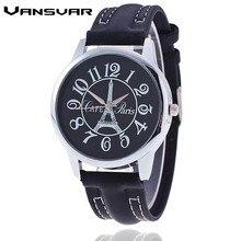 Vansvar Luxurious Model Watch Girls Tower Watch Informal Women Women Costume Wristwatch Quartz Watch Relogio Feminino Present Clock 1921