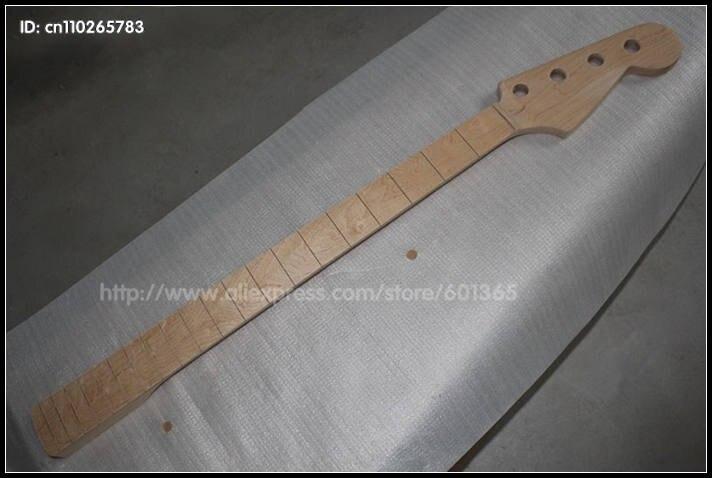 Kit de basse électrique à col de basse électrique en érable canadien à 4 cordes