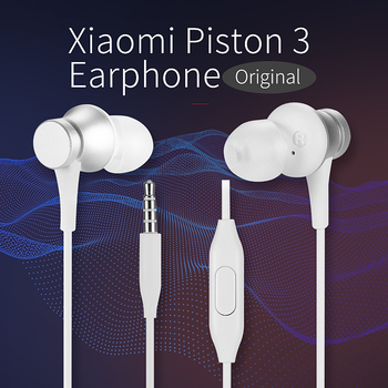 Original Xiaomi In-ear Earphones Wired Gaming Headsets with Mic Fresh Version for Xiaomi Huawei Samsung Iphone Ipod