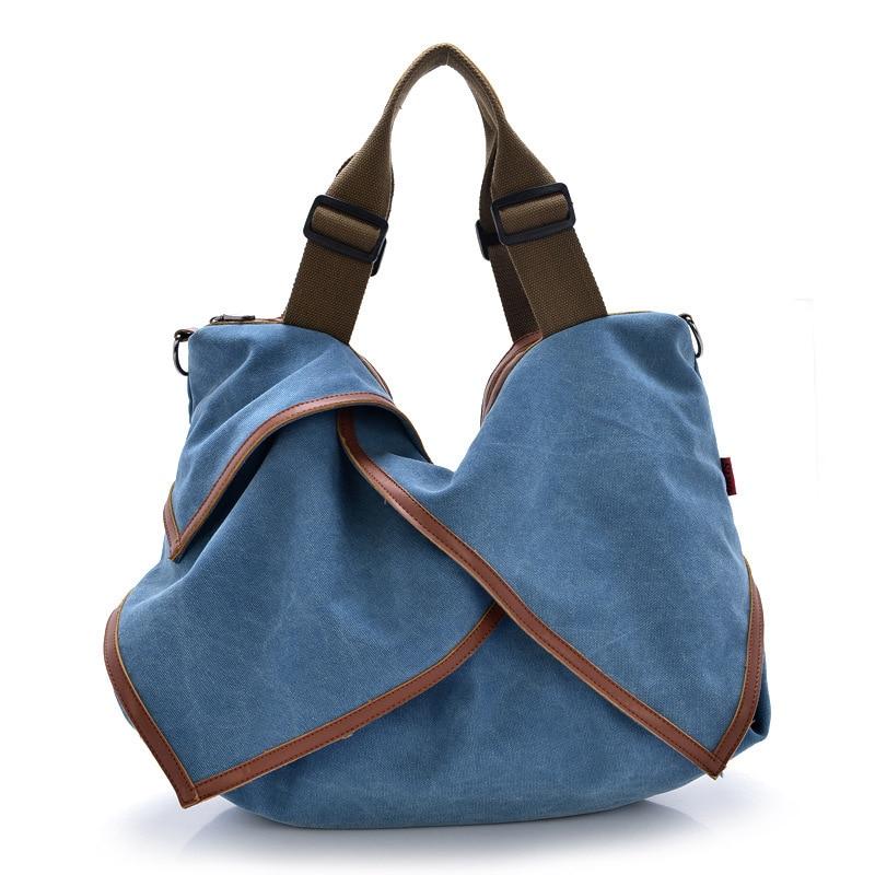 2017 neue Hohe Qualität Frauen Leinwand Handtaschen Große - Handtaschen