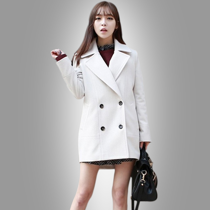 Popular White Wool Coats for Women-Buy Cheap White Wool Coats for