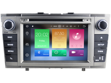 Android 6.0 CAR Audio DVD player FOR TOYOTA AVENSIS 2008-2013 gps Multimedia head device unit receiver BT WIFI