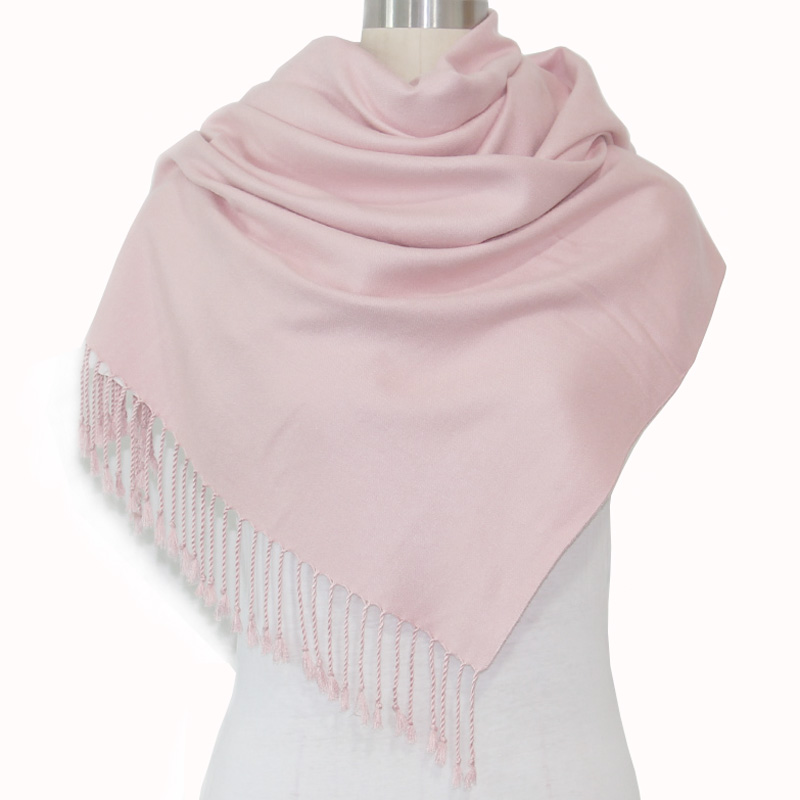 Women solid color cashmere scarves with tassel lady winter thick warm scarf high quality 320 GRM female shawl hot sale