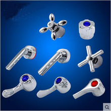 35/40mm Shower faucet cartridge repair accessories, Bathroom faucet handle chrome plated, Kitchen faucet handwheel replacement