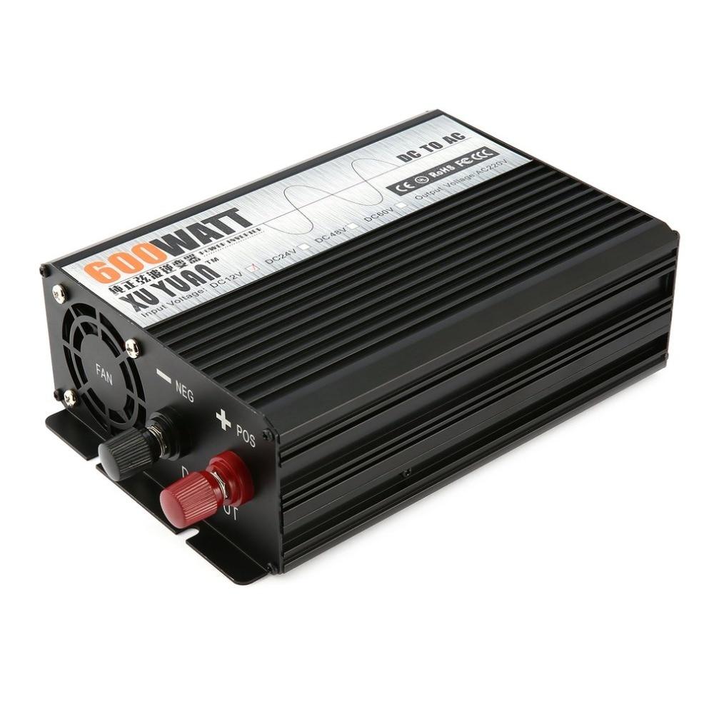 Чистая синусоида 2000 Вт DC12V к AC220V автомобиля Мощность инвертор Напряжение трансформатор Отдых Путешествия транспортных средств преобразова