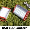 Brilhante Super Leve 21 LED Luzes de Emergência Multifuncional Lanterna de Acampamento Ao Ar Livre Portátil Resistente À Água Lâmpada Powerbank