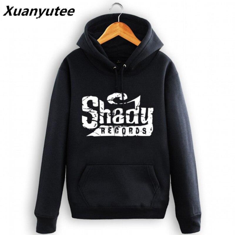 38182e51 Мужская толстовка с капюшоном Shady Records Lovers зимняя хлопковая толстовка  Eminem The Rap пуловер с капюшоном флисовые куртки хип-хоп толстые толстовки