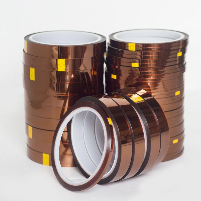 c9656d4eb Venta caliente 7mm x 33 m alta temperatura resistente al calor cinta de  poliimida 260-300 grados