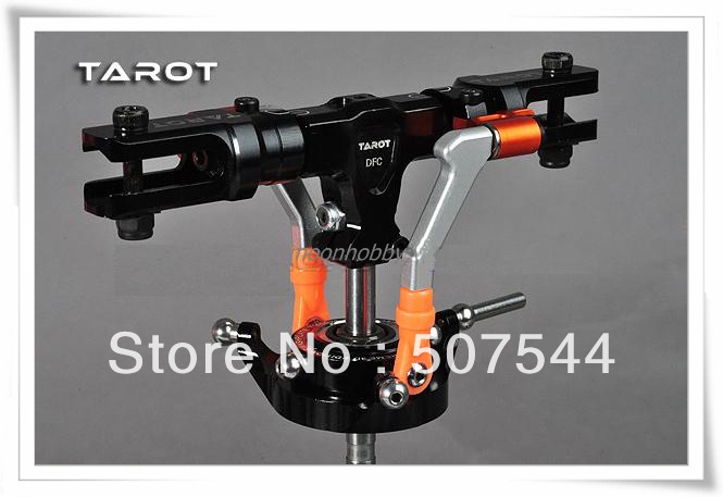 Tarot TL48025-1 450 DFC Rotor Head Assembly Split Lock Black tarot 450 DFC parts free shipping with tracking tarot 450 main frame set tarot 450 tl2336 tarot 450 pro parts free shipping with tracking