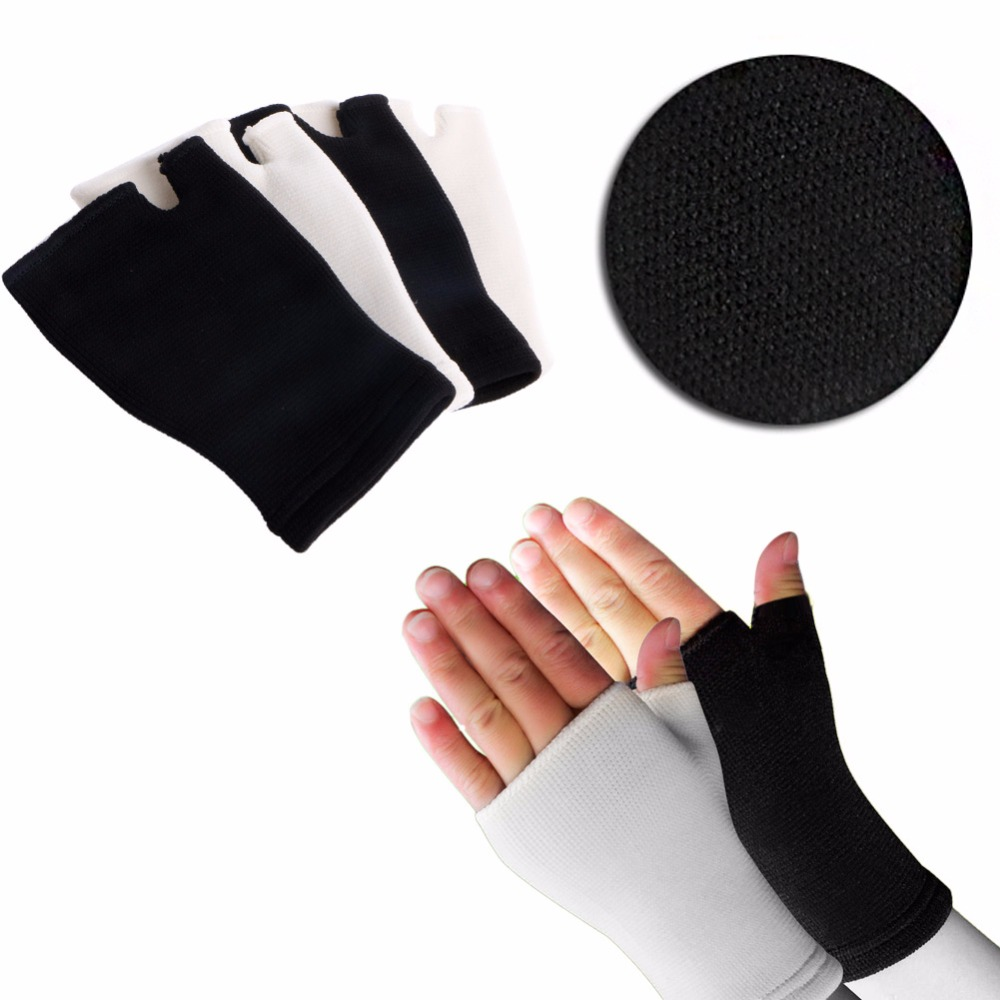 New 1Pair Elastic Palm Glove Hand Wrist Supports Arthritis Brace Sleeve Support ...