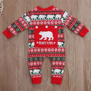 83fd440b58c pudcoco Costume Winter Kids Clothes Romper Jumpsuit