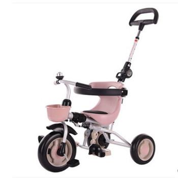 Folding children's tricycle 1-3-2-6 years old baby stroller pedal bicycle stroller kids toys