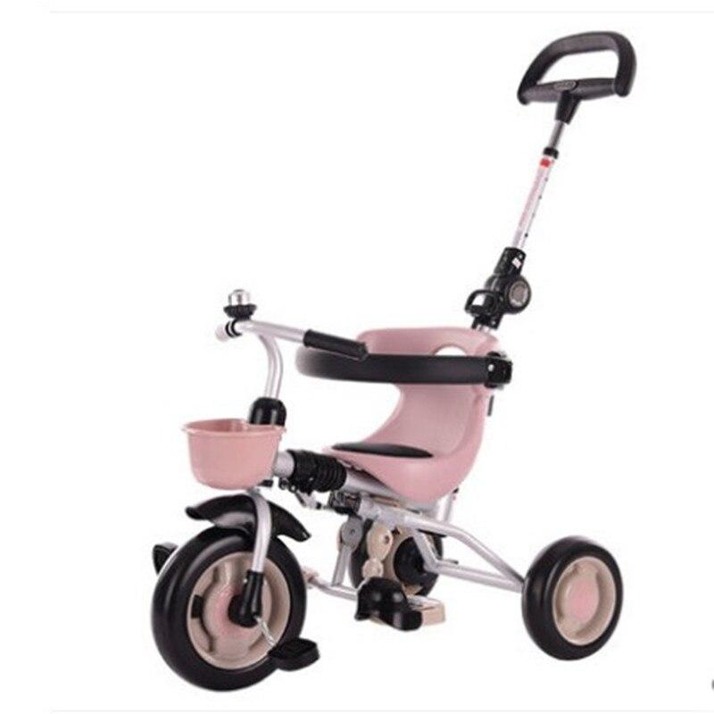 Tricycle pliant pour enfants 1-3-2-6 ans bébé poussette pédale vélo poussette enfants jouets
