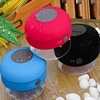 Christmas Gift Colorful Mini Shower Water Proof Wireless Bluetooth Speaker Music Suction Mic For Ios Android