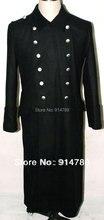 Второй мировой войны немецкой M32 черной шерсти шинель пальто в SIZES-31735