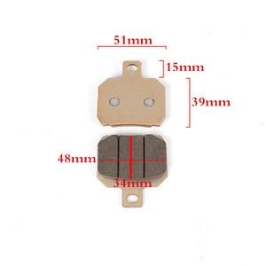 Image 4 - Motorcycle brake caliper 40mm/100mm/84mm/82mm hole distance brake shoe AKCND/ADL/RPM For yamaha honda DUCATI Kawasaki  SUZUKI