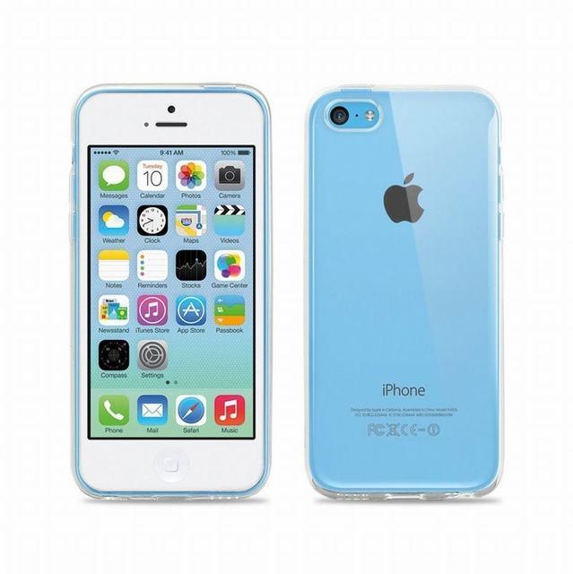 Силиконовый чехол для iPhone 5C (прозрачный)