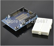 Free shipping!! 2pcs/lot The ProtoShield prototype extension board with mini bread board for arduino
