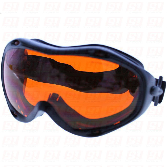 Laser Safety Glasses 190-540nm O.D 5+ CE Certified For 266nm, 405nm, 45-450nm And 532nm Lasers.