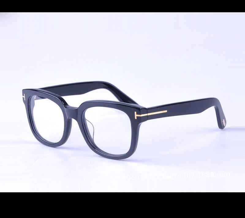Tom pour Vintage homme lunettes montures optiques mode acétate femmes spectacle optique lunettes montures lunettes de sol oculos 5179