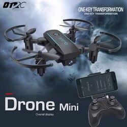 Otrc 1601 طوي drone مع كاميرا hd 2mp زاوية واسعة wifi fpv الارتفاع الانتظار روتردام هليكوبتر quadcopter vs H47 استطلاع