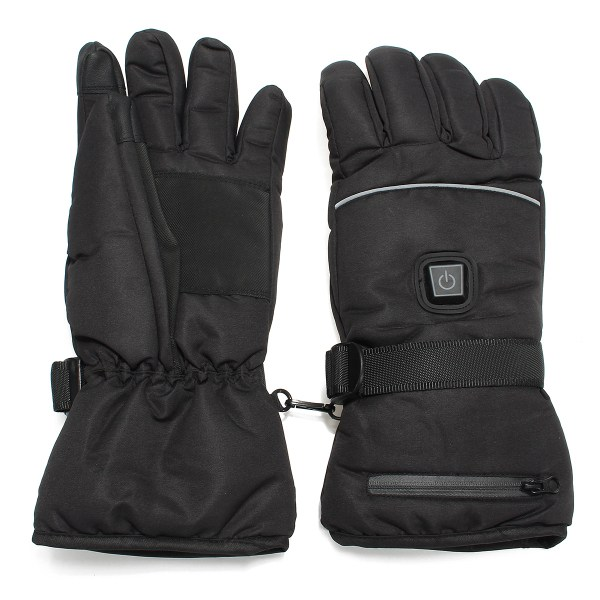 все цены на Safurance Unisex Waterproof Heated Gloves Battery Powered Motorcycle Hunting Winter Warmer Workplace Safety онлайн