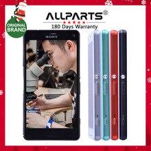 ORYGINALNY Wyświetlacz Dotykowy Ekran Do SONY Xperia Z3 Compact Z3 Mini Digitizer z Ramą Dla SONY Xperia Z3 Compact D5803 D5833 z3 LCD
