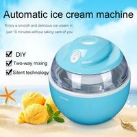 2019 Drop Shpping SUNSIR 220V Ice Cream Maker Portable Fashion Milk Bar Kids Fruit for Diy