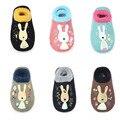 Doce Pares Un Conjunto Suave Infantil Del Bebé Animal Calcetines Cortos Calcetines de Algodón antideslizante 0-12 Meses