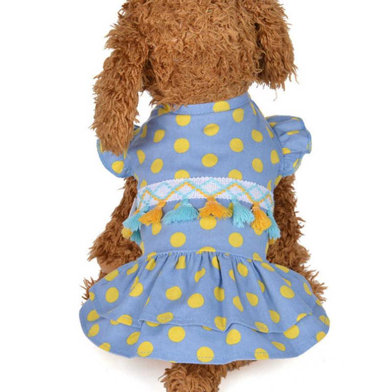 Лето кошка платье одежда для кошки Одежда для животных юбка с котами Свадебные Lady Cat Юбка летняя Горячая Стиль принцессы милый котенок юбка TF P1