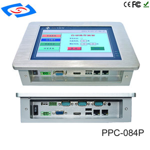 Image 3 - 低コスト 8.4 インチのタッチスクリーン産業用タブレット PC IP65 ファンレス設計と 800x600 解像度 3xUSB2 。ファクトリーオートメーションため 0