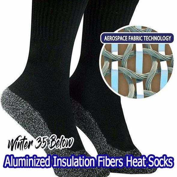 81c92373a57d8 Winter 35 Aluminized Keep Feet Long Sock Heat Fibers Insulation Below Socks  2018 New-in Men's Socks from Underwear & Sleepwears on Aliexpress.com |  Alibaba ...