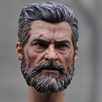 1: 6 Scale head model shape Hugh Jackman 16 54 ordinary version of the Wolverine men's for 12 inch action figure accessories