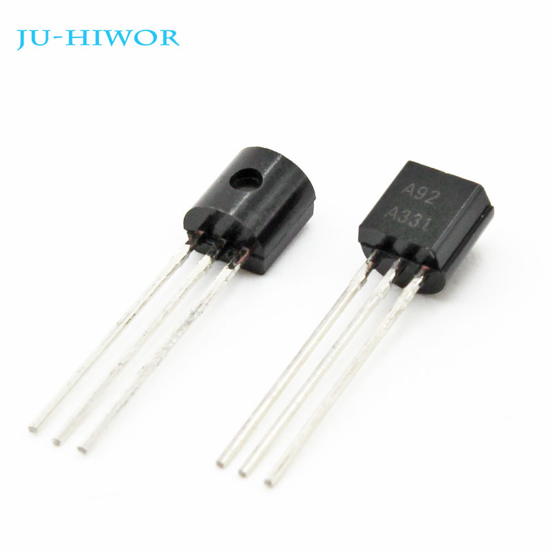 Transistores do Furo do Throught do Transistor do Triode de 1000 Pces Ksp92 A-92