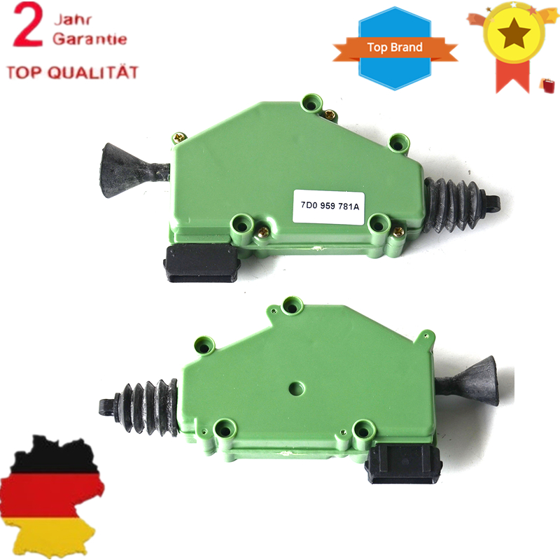 AP01 1 Set Of 2 Door Lock Actuator/Central Locking FOR VW Transporter T4 Multivan Caravelle 7D0959781A, 701959783A