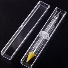 Dual-ended Wax Pencil For Rhinestone Pick Up | Stone Picker Nail Dotting Pen Crystal Beads Handle Studs