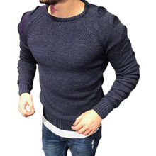 New Mens Sweaters Merino Wool O Neck Jumper Pullover Knitted Top Plain Designer Ripped Hole Sweater Top For Men