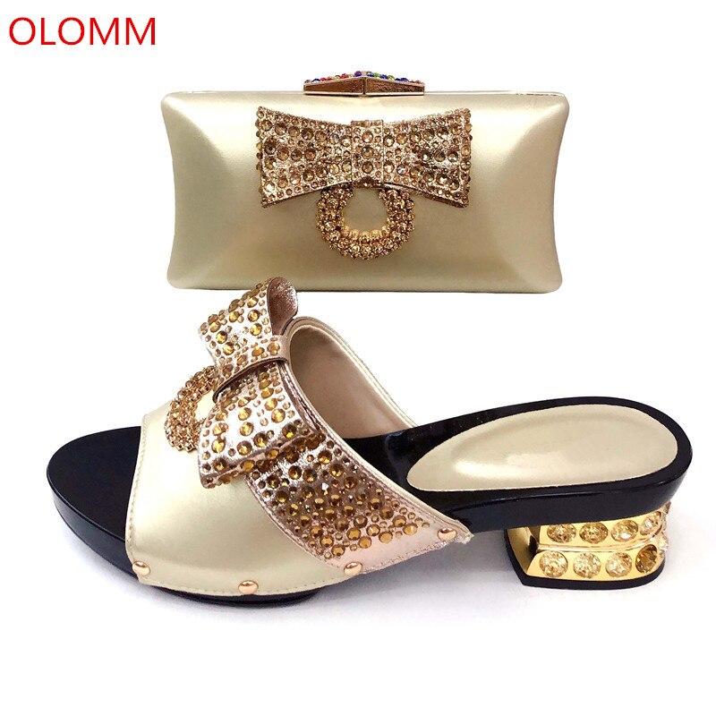 amarillo Nigeria 2 Bolso Juego Africana Con azul Decorado A Y Bolsos Olomm Diamantes Imitación Italiano De oro Zapatos rojo Negro Rr1 ZRqOwOnS