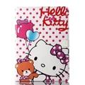 Hello kitty Case для 9.7 дюймов Apple iPad 6 air2 Флип новый Планшетный ПК Искусственная кожа мультфильм защитный стенд держатель смарт случаях крышка